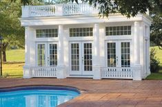 Coventry Pool & Garden House Plans book