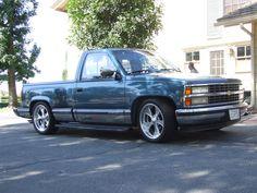 1990 blue chevy silverado truck, California 2013