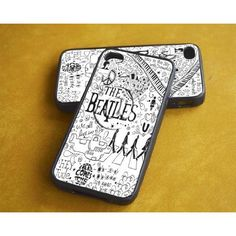 Black Iphone 4/4s Case -- The Beatles Black and W ($7.99)