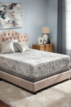 The best of sleep technology and organic materials combine with the Telluride Plush Mattress offering pressure-relieving comfort and motionless support. Available in Queen, King, and Twin XL sizes. #denvermattress #mattress #bed #sleep #couplegoals Custom Mattress, Latex Mattress, Best Mattress, Denver, Bed Boards, Dmc, Bed Sizes, Good Night Sleep, Plush