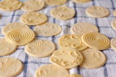 More than just a pretty face, these embossed pasta medallions are also great at holding sauce.