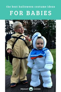 halloween costumes for infants 55 of the best ideas for funny baby Halloween costumes! Whether it's your baby's first Halloween or you're dressing a whole family, click th Best Toddler Costumes, Unique Toddler Halloween Costumes, Diy Costumes For Boys, Baby First Halloween, Boy Costumes, Family Halloween, Women Halloween, Halloween Halloween, Halloween Makeup