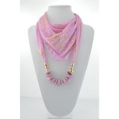 Collier Foulard Bijoux New Collection 61799