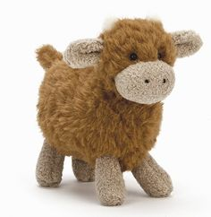 Jellycat FAF6HC Farm Friends Highland Cow