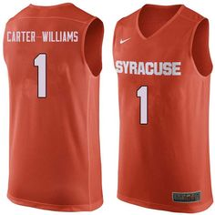 3cc3013bcff7 Men  1 Michael Carter-Williams Syracuse Orange College Basketball Jerseys  Sale-Orange