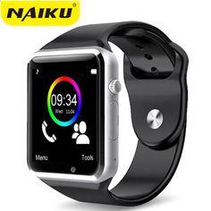115a82e9738 НАІКУ Wristwatch Bluetooth Смарт-годинник спортивний крокодил з SIM-карткою  Smartwatch для Android смартфон