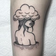 "4,004 Likes, 48 Comments - Ø (@lmariera) on Instagram: ""La tête de les nuages. Done @olyangertattoo"""