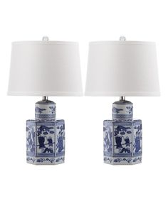 Loving this Antique White Tyneshia Table Lamp - Set of Two on #zulily! #zulilyfinds $199.99