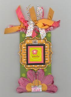 Crafty Polly Tag - this was published in Cards Magazine.