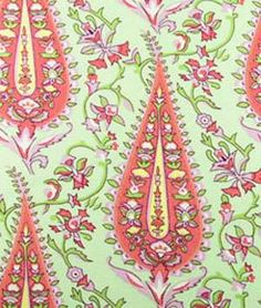 Amy Butler Cypress Paisley Blush Fabric... cant wait to see an order just placed in this