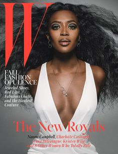 Naomi Campbell on the cover of W Magazine October 2014