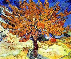 Van Gogh | This is a Van Gogh painting of a mulberry tree. How lucky I am to have ...
