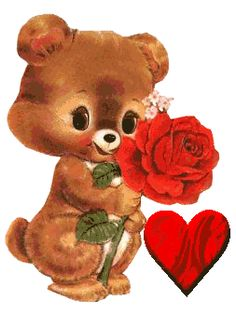 Animated Gif by Mary Meier I Love You Pictures, Beautiful Love Pictures, Love You Images, Beautiful Gif, Gif Pictures, Beautiful Roses, Love Heart Gif, Love You Gif, Cute Love Gif