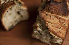 Pão de Puxar de Pesto