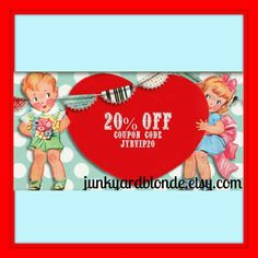 💲COUPON CODE 20% OFF ORDERS $25 w/Coupon JYBVIP20 @ Checkout💲#save #couponcode #promo #vintage #retro #gotvintage #junkyardblonde