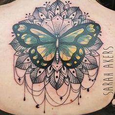 butterfly mandala tattoo - Buscar con Google