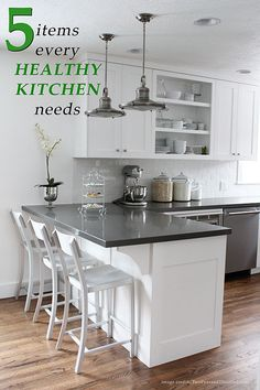 5 Items Every Healthy Kitchen Needs
