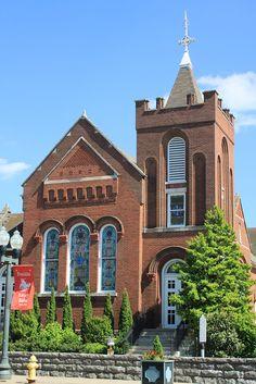 First Presbyterian Church, C. 1842 - Franklin. Tn