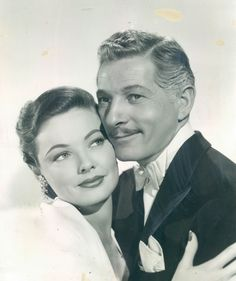 Gene Tierney with Danny Kaye On the Riviera