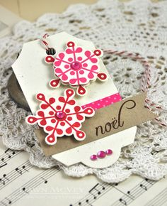 Peace Be Still Revisited - Noël Gift Tag by Dawn McVey for Papertrey Ink (October 2013)
