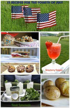 15 Summer Recipes #memorialday #fourthofjuly #summer