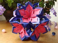 As Dobradeiras - Origami: Kusudama Ilex by Ekaterina Lukasheva