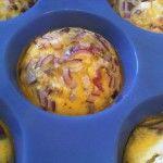 Frittata-Muffins mit Feta