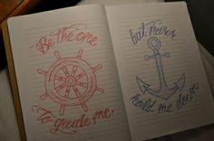 I want a anchor and wheel.