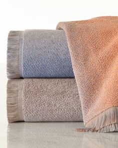 Mallorca Towels by Kassatex at Horchow.