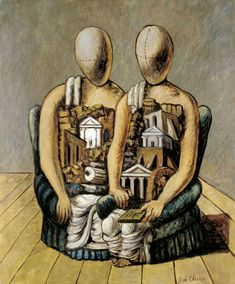 The Archaeologists is an Early Modernist Oil on Canvas Painting created by Giorgio de Chirico in The image is tagged Mannequins and Metaphysical Artist. Gouache, New Fine Arts, Alice And Wonderland Quotes, Traditional Paintings, Italian Artist, Sculpture, Artist Art, Figurative Art, Art History