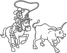 cowboy coloring pages 8 purple kitty