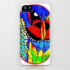 Butterfly iPhone & iPod Case by Christa Bethune Smith, Cabsink09 - $35.00