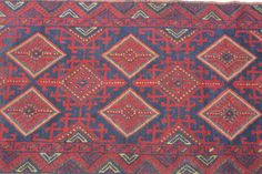 Beautiful Long Afghan Kilim Rug Runner Afghan berjasta Rug Runner 2'4 x 11'7 Foot