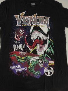 275da7dc Venom The Black Suit Marvel Comics T-Shirt M Medium #Venom #GraphicTee