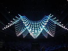 Kinetic Light System Orbis-Fly in Leningrad Center. http://timeline.ru
