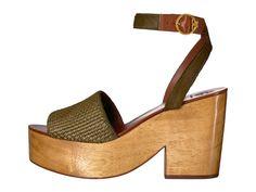 55536232be9c Tory Burch Camilla 100mm Sandal Women s Sandals Olivo Women s Sandals