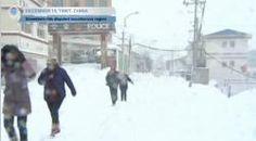"""หนาวสุดขั้ว!! พายุหิมะถล่ม """"ทิเบต"""" หนา 45 - 60 ซม. !!"""