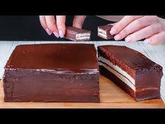 Szavakkal nem lehet elmondani a Kinder Pingui sütemény ízét! Puha és krémes  Cookrate - Magyarország - YouTube Opera Cake, Cake Factory, Köstliche Desserts, Food Cakes, Cake Recipes, Picnic, Candy, Chocolate, Cooking