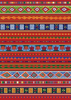 Ethnic African pattern-1