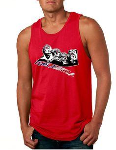Men's Tank Top 4 Fathers American Team 4th Of July Top  #tanktop #american #ustrendy #mensfashion #loveit
