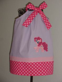 Pinkie Pie My Little Pony Pillowcase Dress by Just4Princess