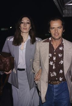 Jack Nicholson and Anjelica Huston photo by Gary Lewis in 1983 #movie