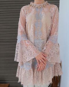 466 Suka, 4 Komentar - Merras ReadyToWear ( di In Kebaya Lace, Kebaya Dress, Hijab Dress, Kebaya Modern Hijab, Kebaya Muslim, Bodycon Dress Parties, Party Wear Dresses, Stunning Dresses, Beautiful Gowns