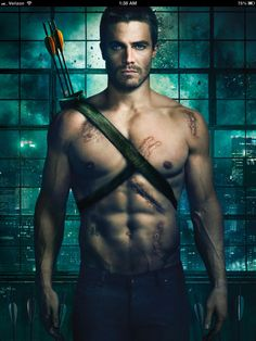 Stephen Amell as Oliver Queen #Arrow