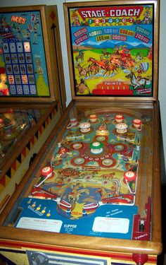 "1954 Stage Coach ""Gottlieb""Pinball Machine"