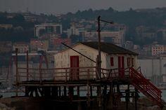 mare, casa, paesaggio, Ancona