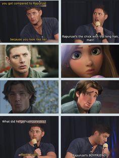 lol Jensen and Jared