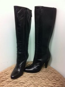 as new Miss Sixty leather boots size 10.5