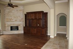 tile and wood transition