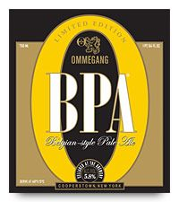 Ommegang BPA Belgian Pale Ale